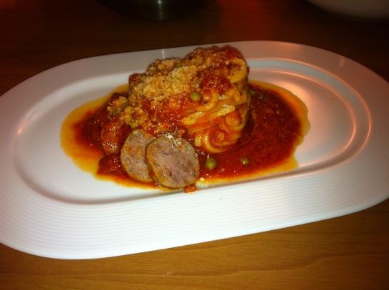 Spaghetti con Verzini