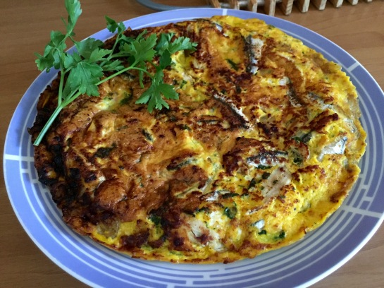 Alici in frittata